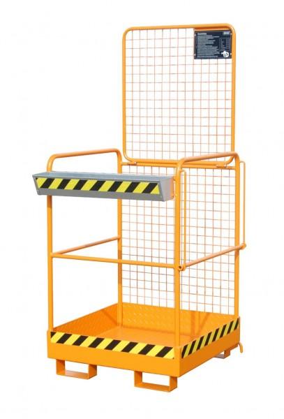 Stapler-Arbeitsbühne Typ SIKO-M für 2 Personen